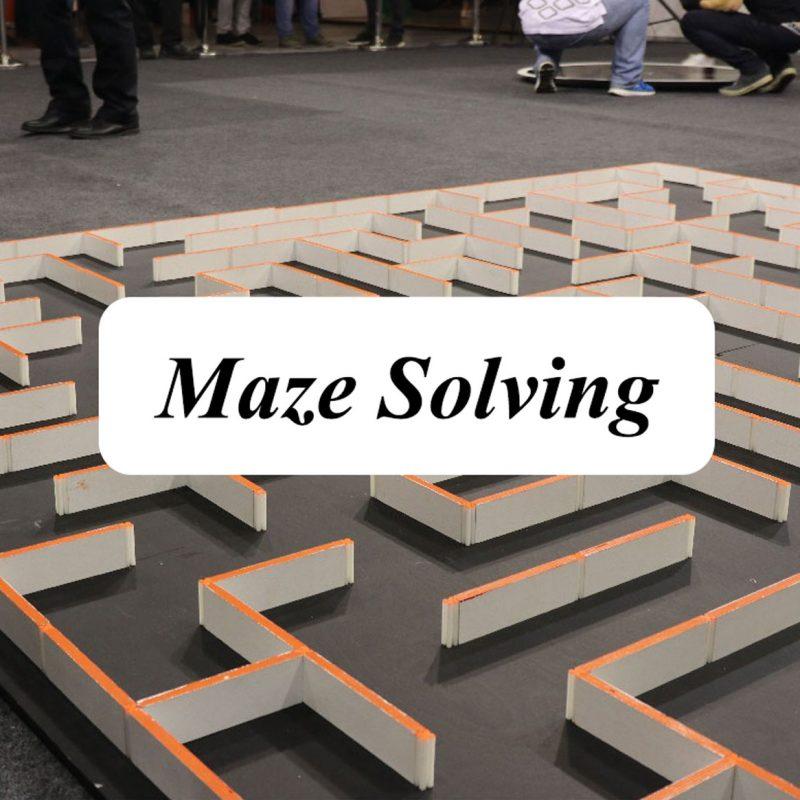 Robotex روبوتکس Maze-Solving