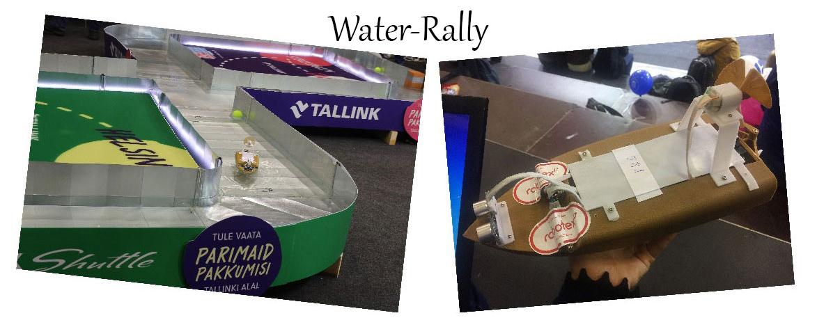Robotex روبوتکس Water-Rally